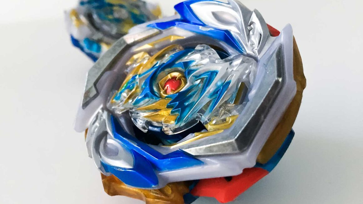 beyblade burst imperial dragon in foreground with ace dragon in background