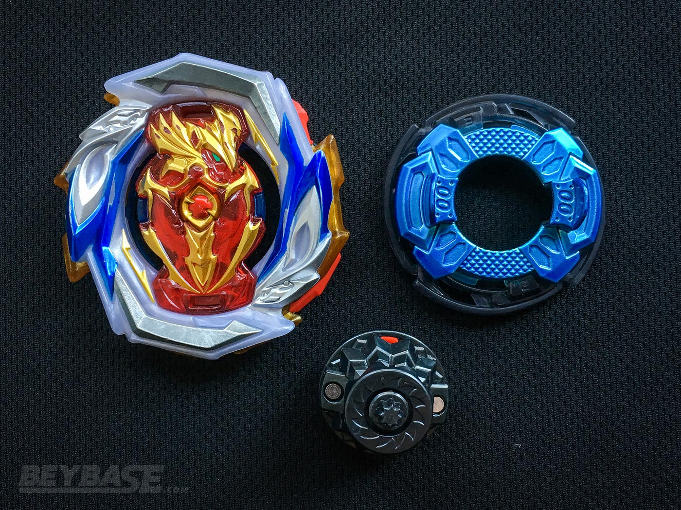Best Beyblade Burst Combo Imperial Achilles 00 Expand Destroy Dash – Parts Separated