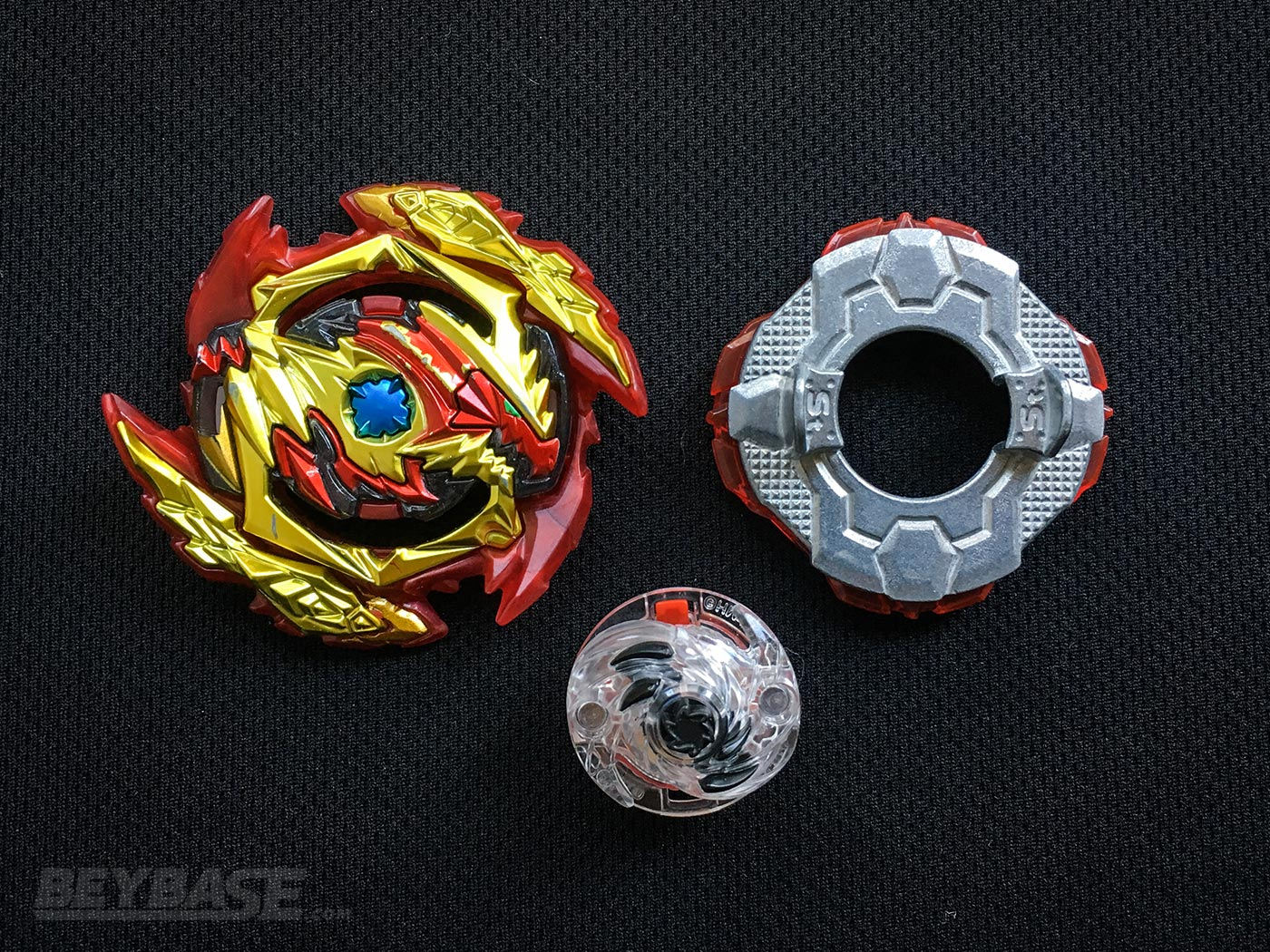 Best Beyblade Burst Combo Zwei Diabolos Sting Jolt Dash – Parts Separated