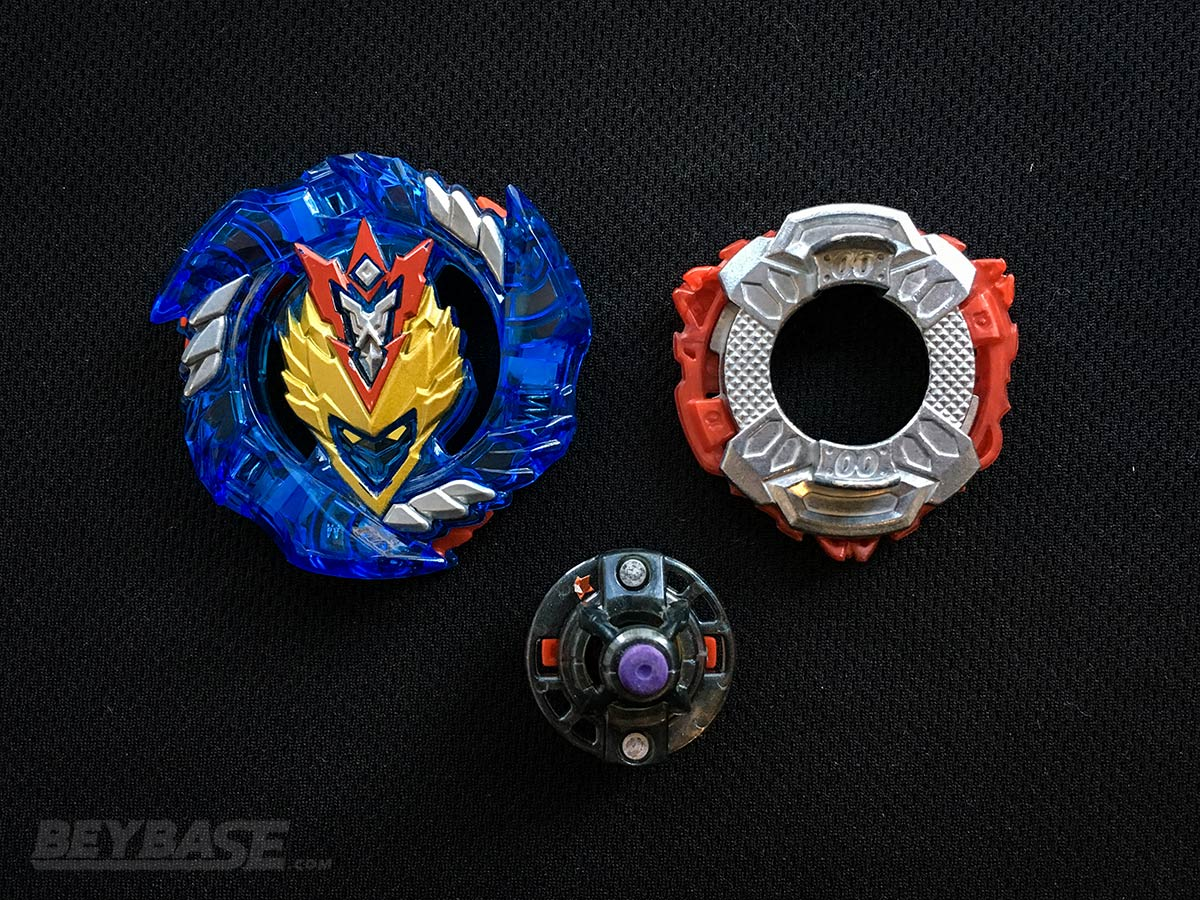 Blader Kei's Underrated Best Beyblade Burst Combo Cho-Z Valkyrie 00 angle Xtreme Dash – Parts Separated