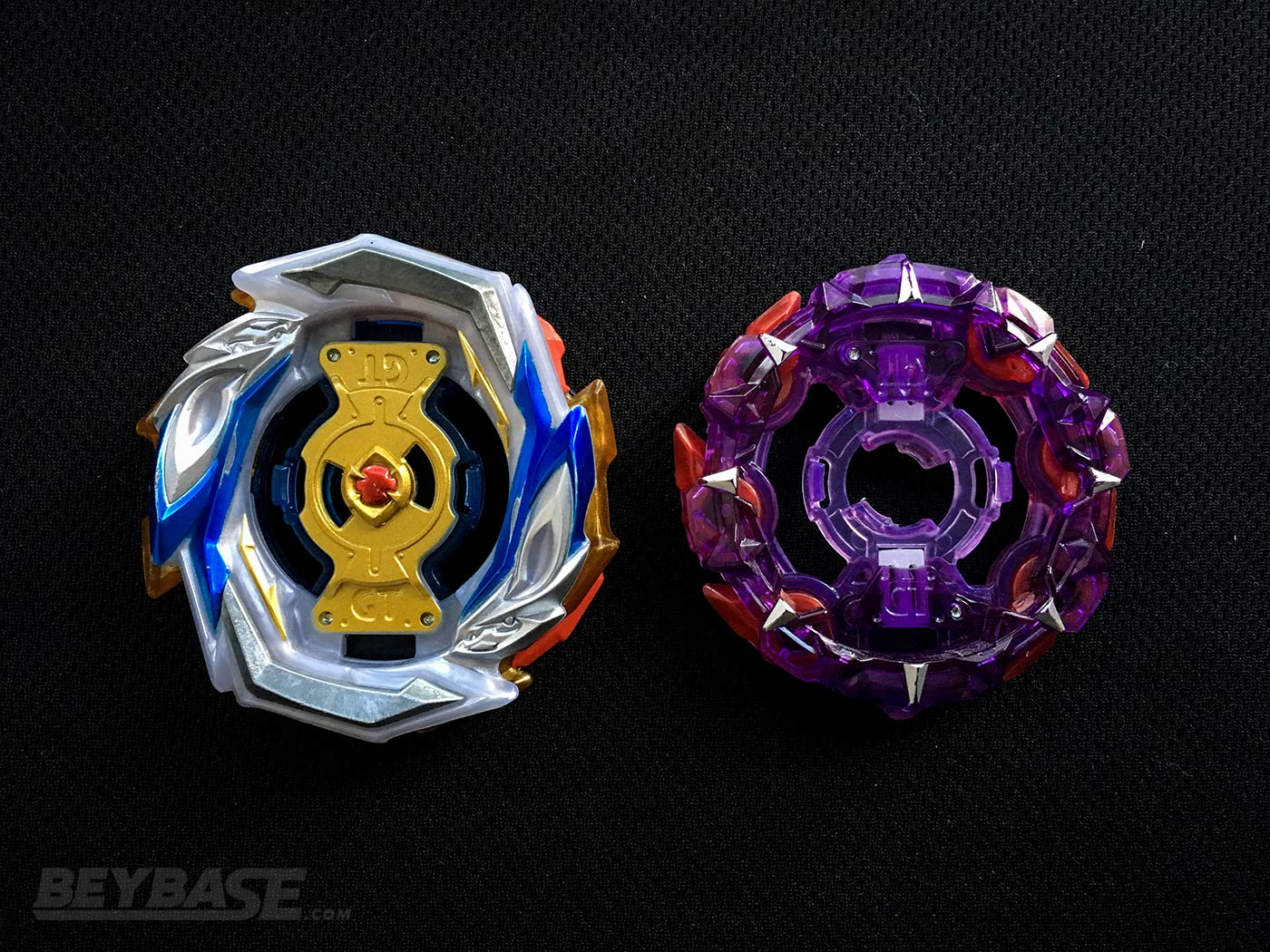 RED NINJA 0829's Underrated Best Beyblade Burst Layers Imperial and Taxt – Top View