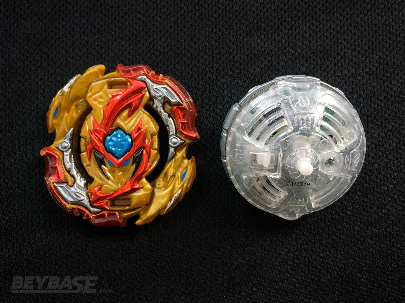 The Supreme One's Underrated Best Beyblade Burst Combo Lord Spriggan Hybrid – Top View