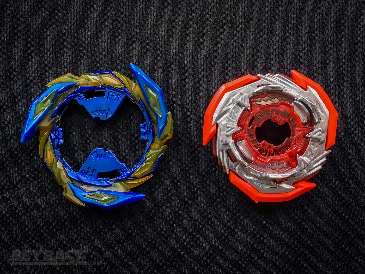 brave ring and 2a double chassis beyblade parts