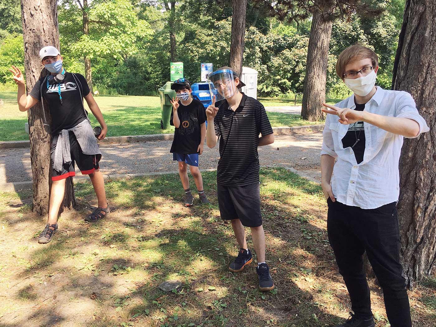 be a hiro wbo toronto beyblade tournament winners: henwooja1, bladerbeast, zankye, and blader kei