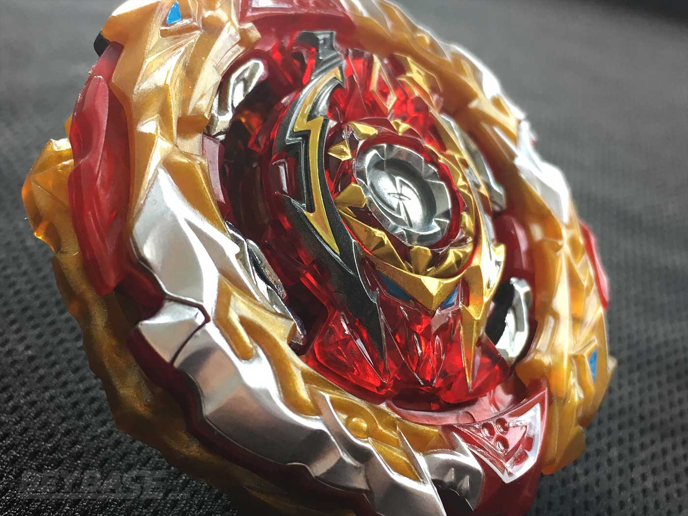 detail of world spriggan unite dash 2b beyblade