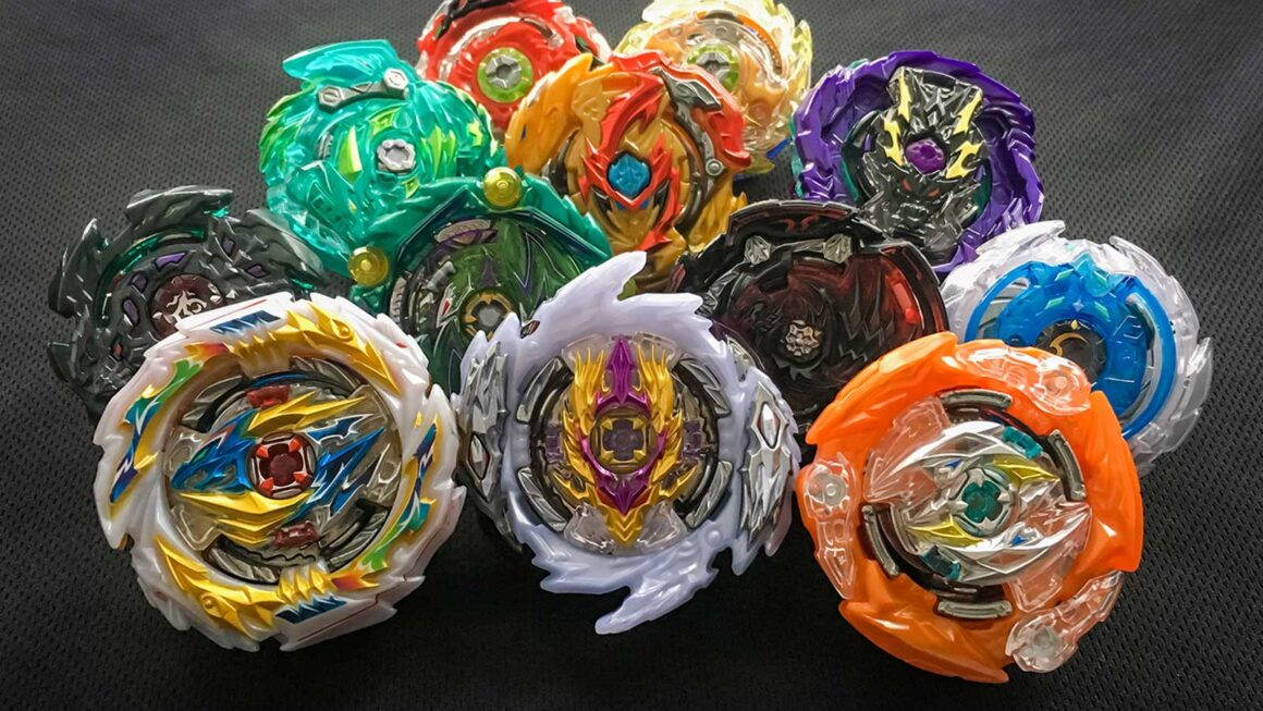 group of the best beyblades to buy from beyblade burst sparking, gt, and god