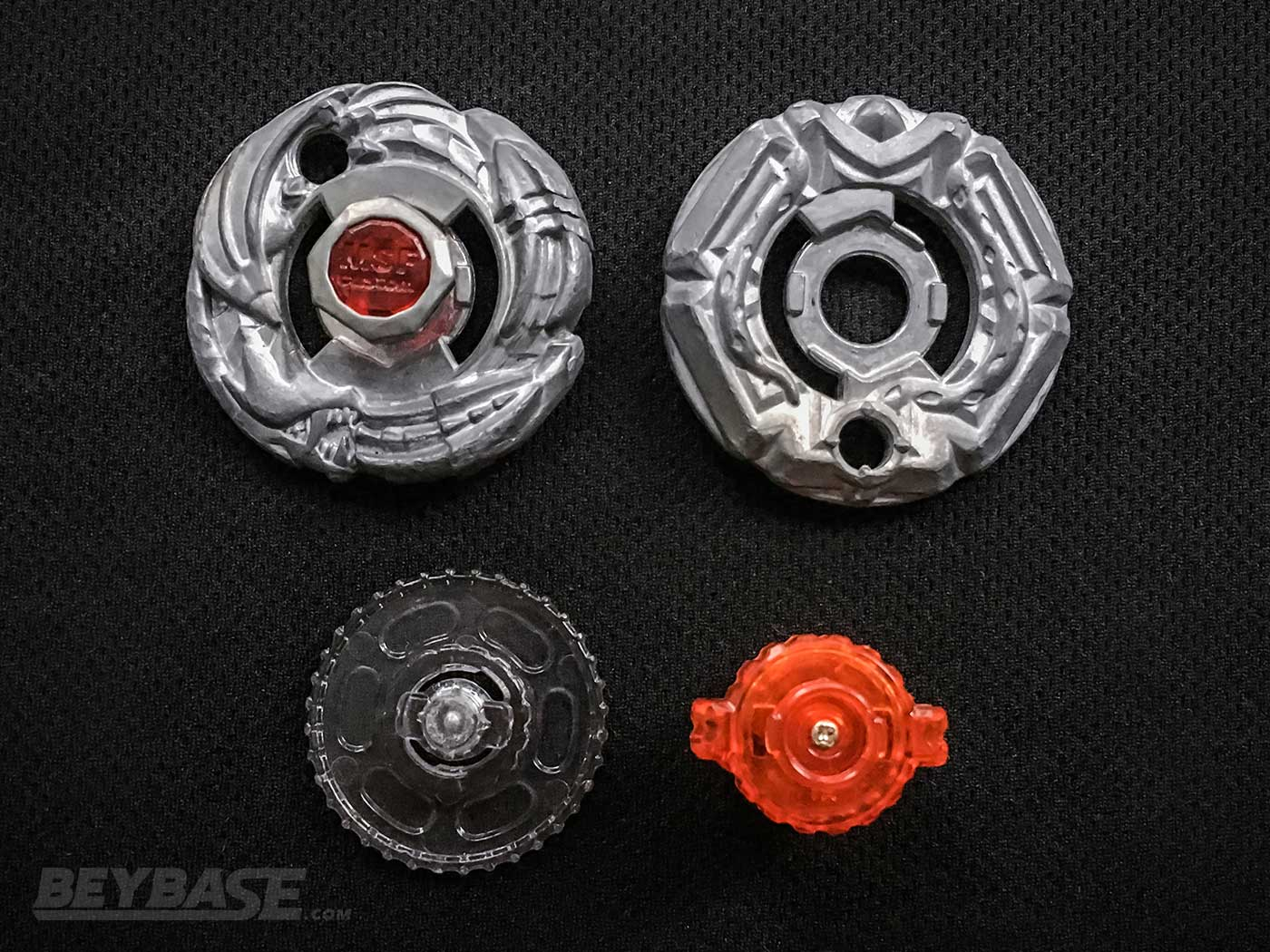 Metal Fight Beyblade Competitive Combo: MSF-L Genbull Dragooon F230GCF parts