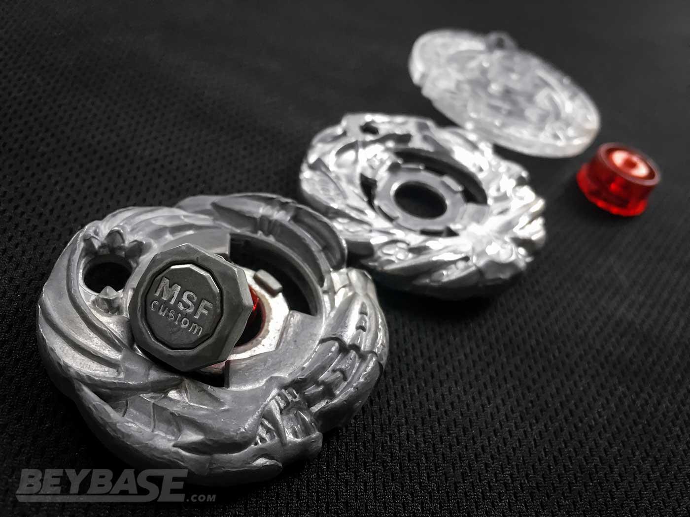 Balance Type Beyblade: Metal Fusion Combo MSF-H Wyvang Dragooon BD145RDF
