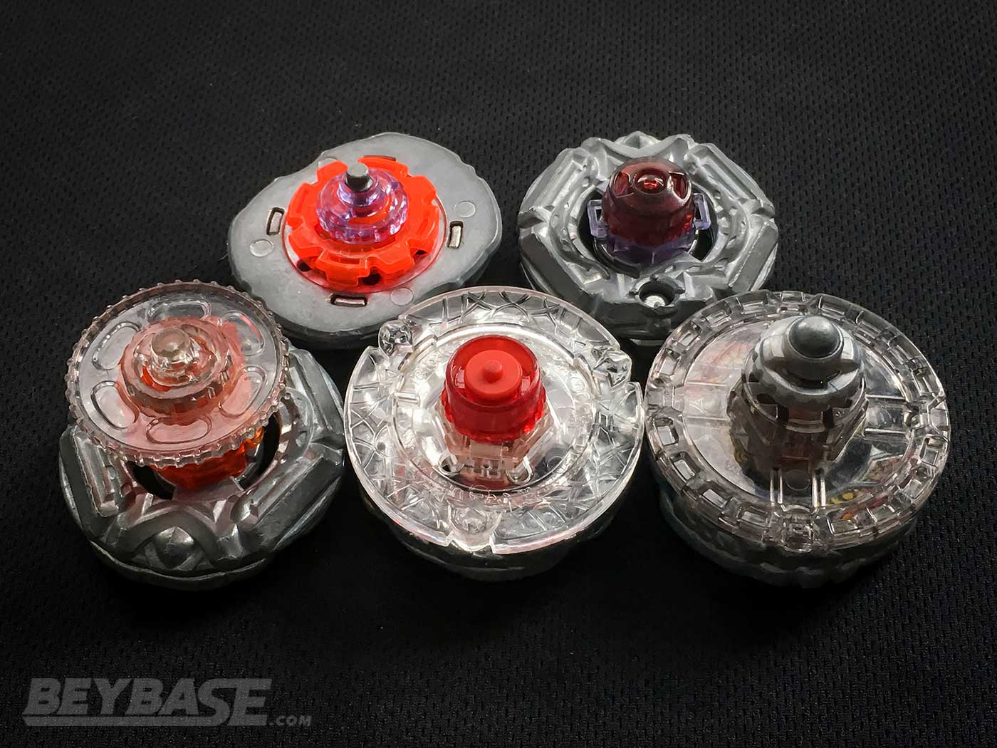 bottom view of top 5 best beyblade metal fusion combos