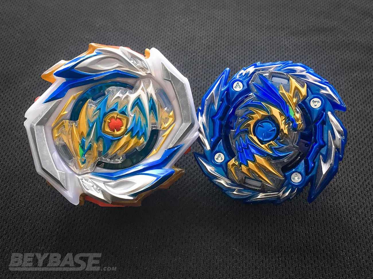 imperial dragon and master diabolos blue version beyblade burst