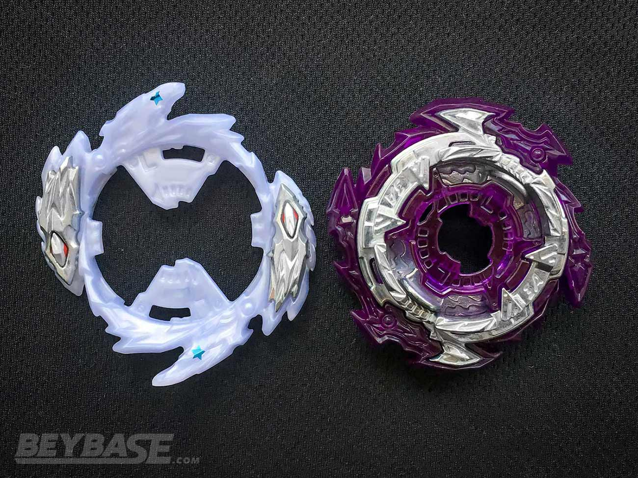 rage ring and 3a chassis beyblade burst parts