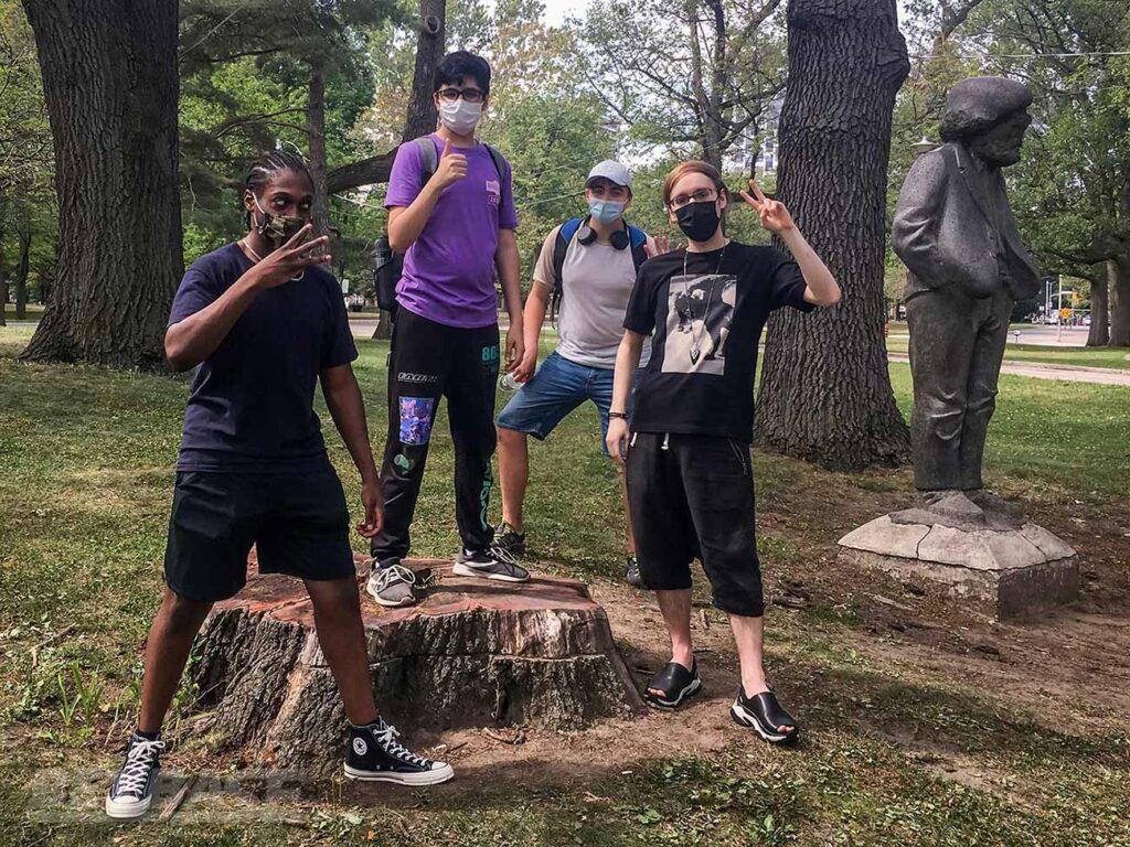 beyblade tournament winners top 4: justin tc, tahoor, henwooja1, and kei