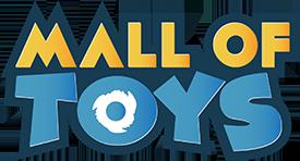 mall of toys logo white