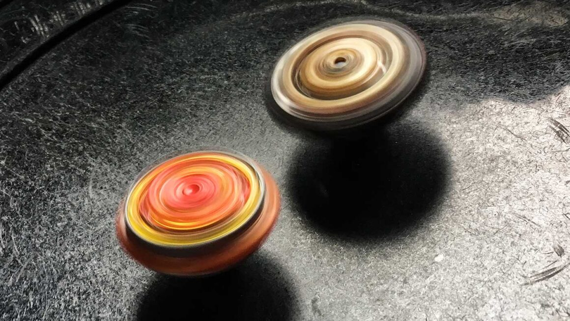 revive phoenix and archer hercules beyblades spinning